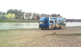 04-08; Elbe; Meißen; Stellpöatz 04