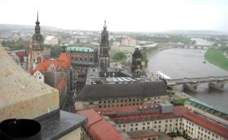 04-09; Dresden; Elbe von oben; von Peter