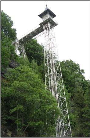 08-03; Bad Schandau; Gitterturm