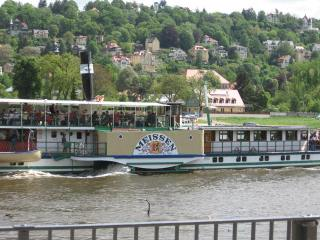 08-03; Bad Schandau; Raddampfer