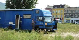 08-04; Elbe Tschechien; Usti Stellplatz 02