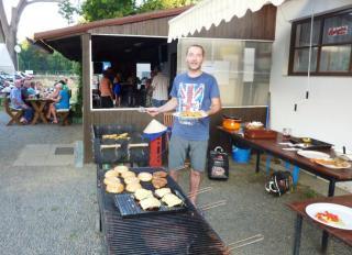 08-05; Litomerice; Campingplatz Grillfete 03