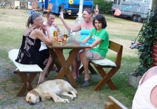 08-05; Litomerice; Campingplatz Grillfete 04