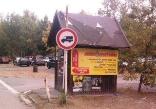 08-10; Podebrady; Einfahrt zum Campingplatz 01