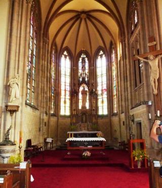 08-21; Vrchlabi; Kirche von innen 01