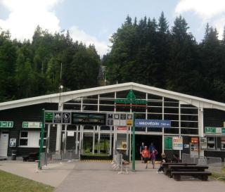 08-23; Spindleruv; Seilbahn