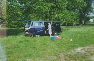 1992-05 Polen, VW-Bus und Heidi