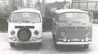 05-09; Hajos und mein VW Bus