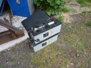 Defekte Altbatterien