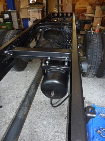 Drucklufttank für Werkstatt