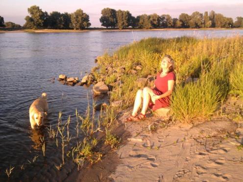Heidi und die Elbe