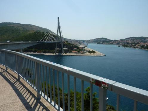 Blick Richtung Dubrovnik