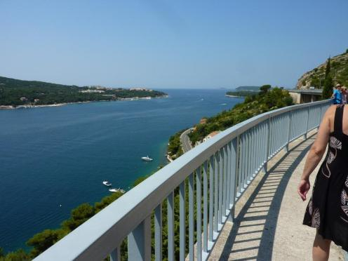 Blick Richtung Mittelmeer