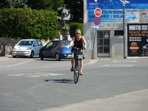 Heidi im Verkehrsgetümmel