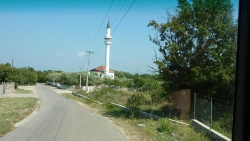 Unser erstes Minarett auf dieser Tour