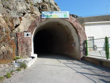 Der Eingang zur Fährstation