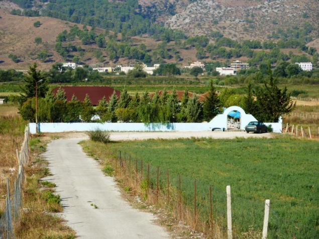 Nur 200 m vom Campingplatz