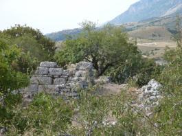 Erste Mauern