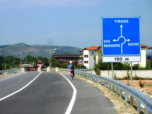 Super ausgeschildert, nur kein Verkehr