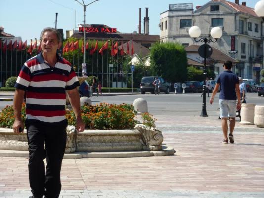 2016-08-30; Shkodra 10; Fußgängerzone 05