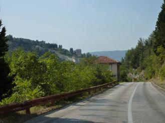 2016-09-01; Stolac 01; Mit dem Rad in die Stadt 13