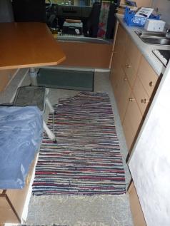 Teppich, verrutscht leider dauernd