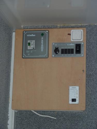 Zentralsteuerung für Elektrik