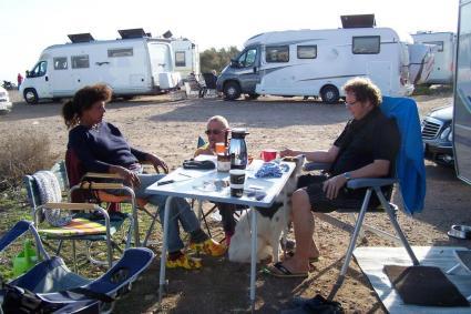 Sonja, Peter und Hermann