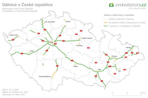 Mautfrei durch Tschechien