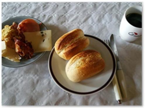 ... und ihr Frühstück © bei Steffi Pilz