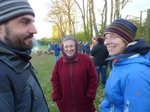 Roman, Heidi und Mareike