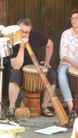 Takadimis mit Didgeridoo