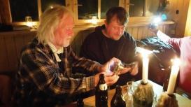 Patrick und ich beim hopfenfreien Bier © bei Steffi Pilz