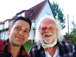 2017-05-13; Sternberger Burg; Jens und ich