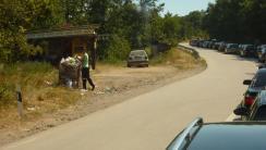 Grenze nach Kosovo