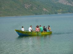 Rundfahrten im Ruderboot