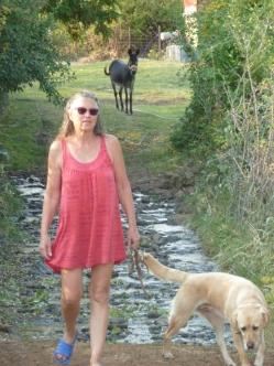 Heidi mit ihren Lieblingen