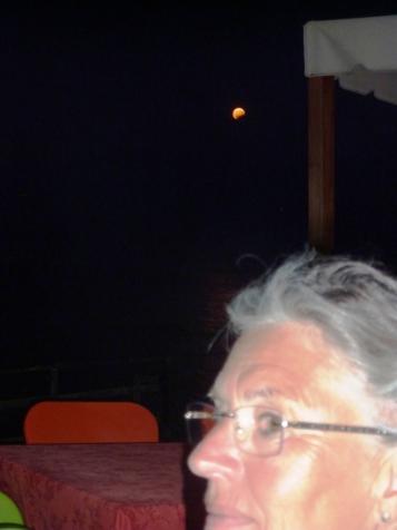 Heidi wird heute Nacht wieder den Mond anheulen