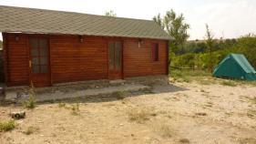 Eine Hütte zum Übernachten