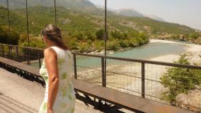 Brücke für den kleinen Grenzverkehr