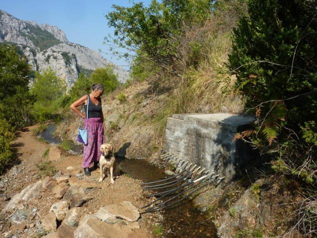 Gefasste Quelle zur Trinkwasserversorgung