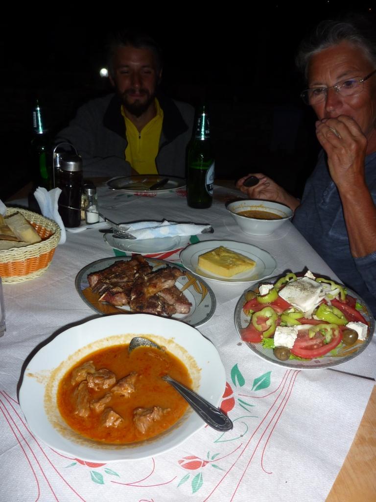 Abendessen mit der belgischen Marine