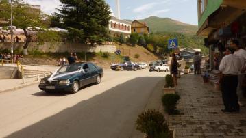 Der albanische Bräutigam selbst