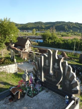 Der Blick vom Friedhof