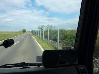 Zaun an der ungarischen Grenze
