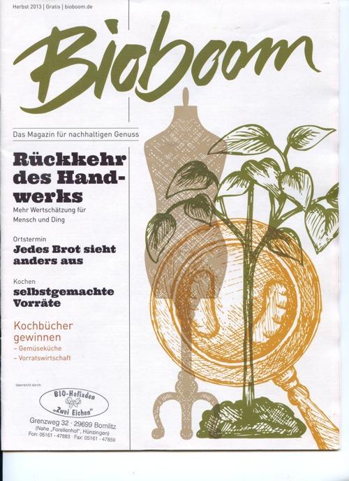 BioBoom; Herbst 2013; fuer HP