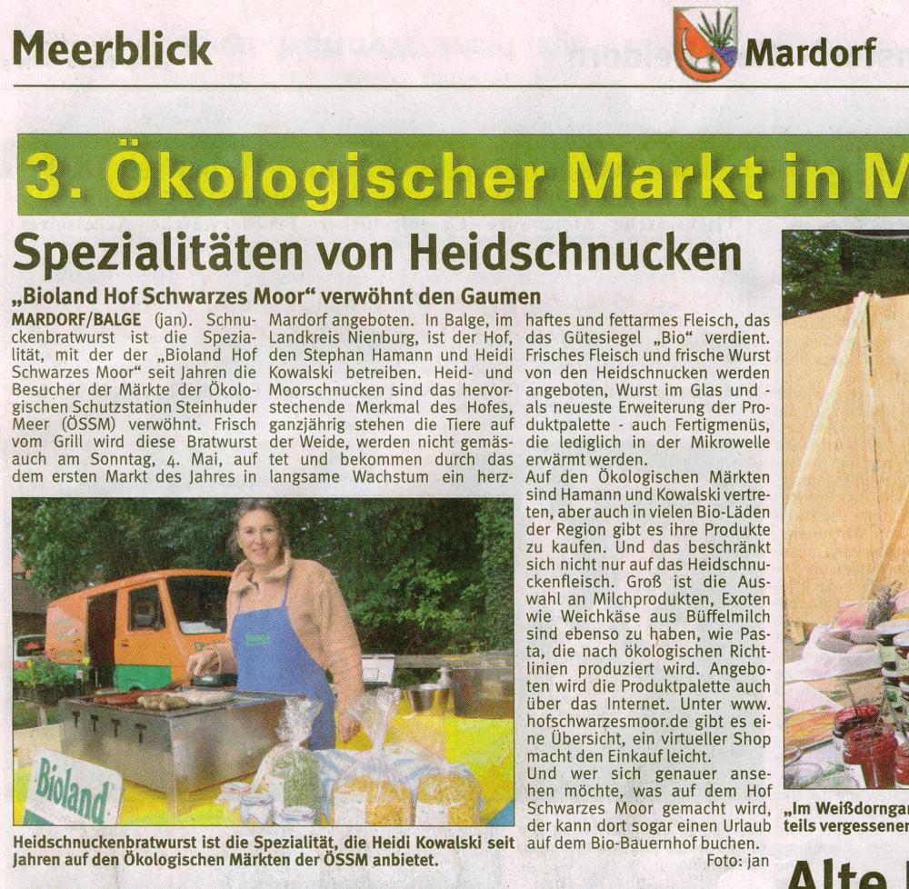 Ökomarkt Mardorf, paasend