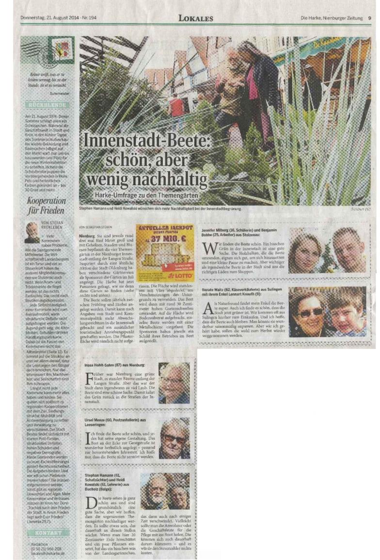 Die Harke - Das Ökofeigenblatt