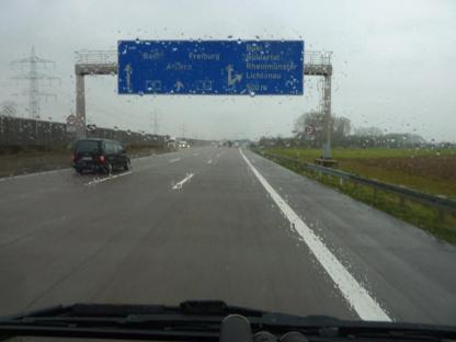A5 - Eigentlich sollte es nicht (!) regnen