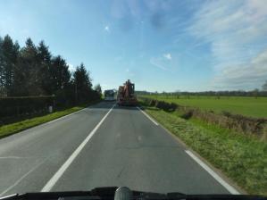 Convoy Exeptionel bei Vichy